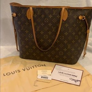 Authentic Louis Vuitton Neverfull MM!